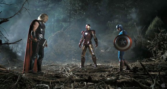 Thor, Iron Man & Captain America Face Off